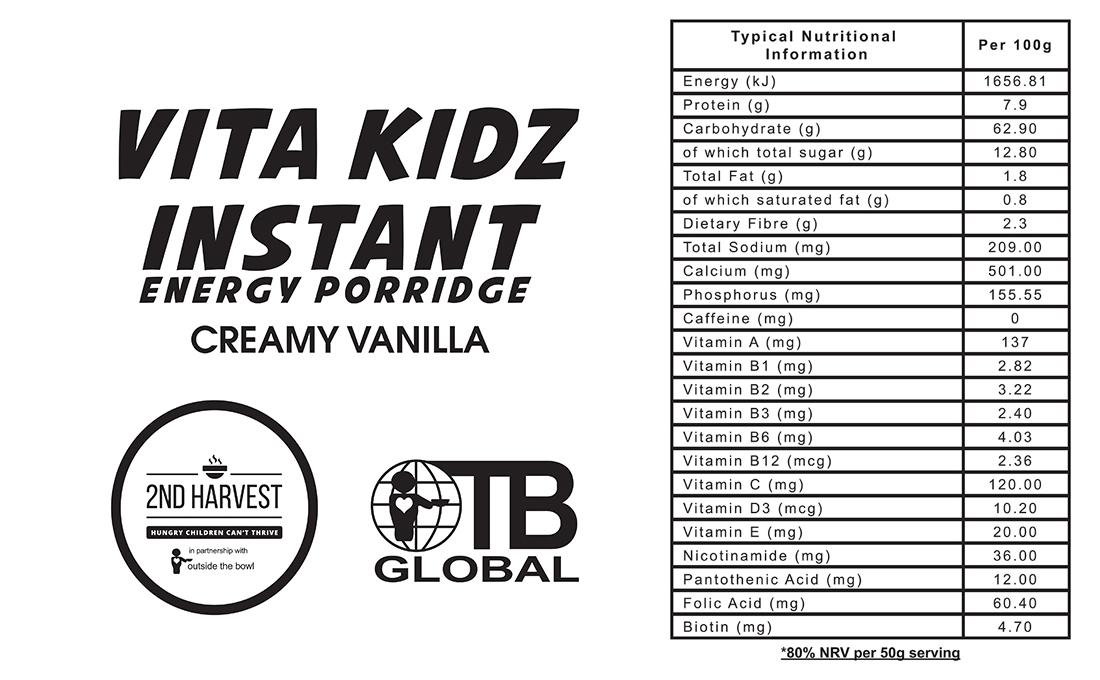 Vita Kidz Creamy Vanilla
