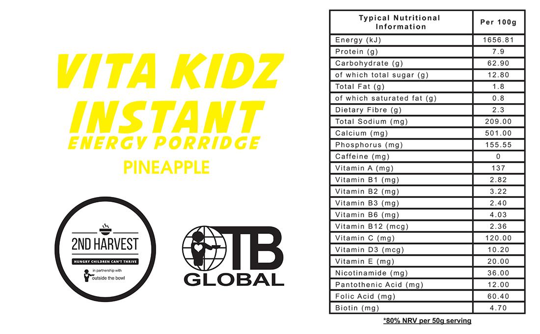 Vita Kidz Pineapple